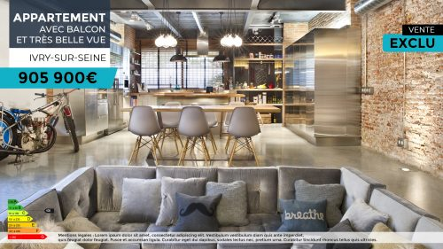 Affichage dynamique - agence immobiliere